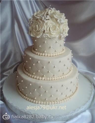 Трехъярусный торт из мастики мастер класс - Parus-murman.ru