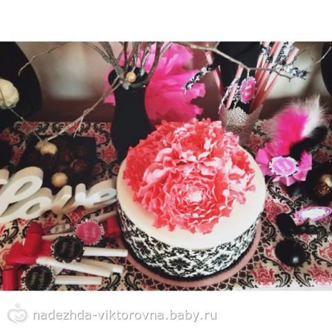 Оформление второго дня рождения евы