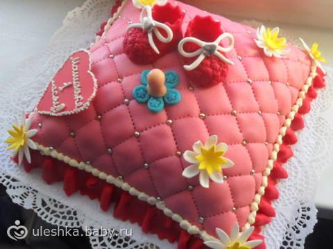 Украшение торта девочке своими руками с фото