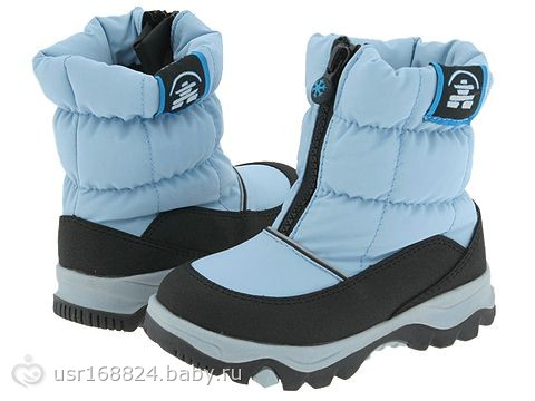 Выбираем зимнюю обувь для малыша