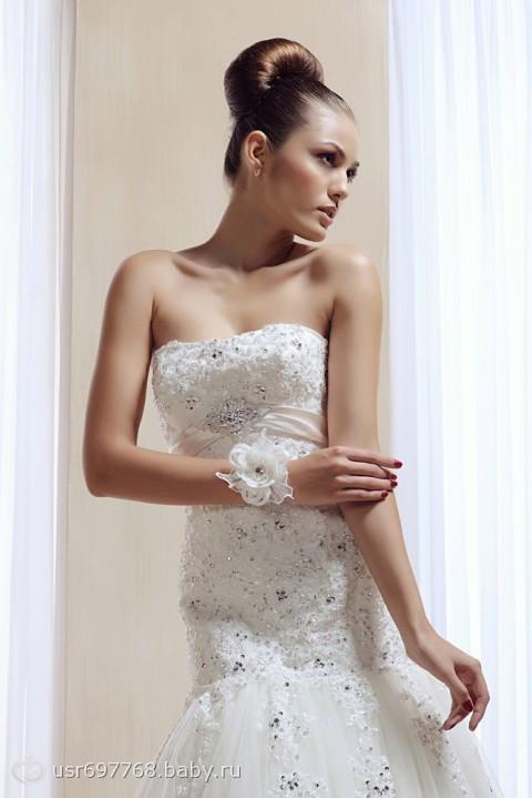 свадебные платья с королевским воротн