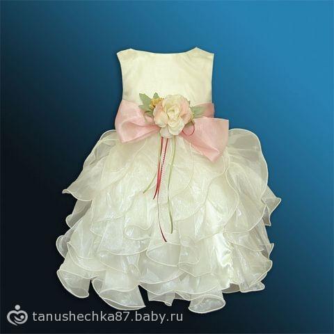 Детское платье на годик выкройки