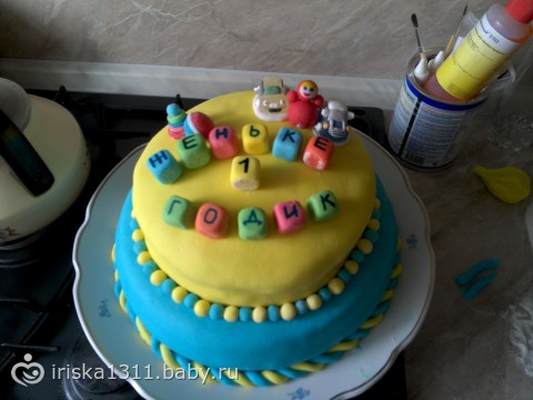 Торт в домашних условиях на 1 год