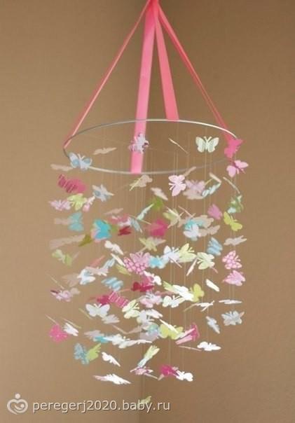 Абажур-бабочки своими руками