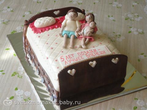 Торт на годовщину свадьбу своими руками