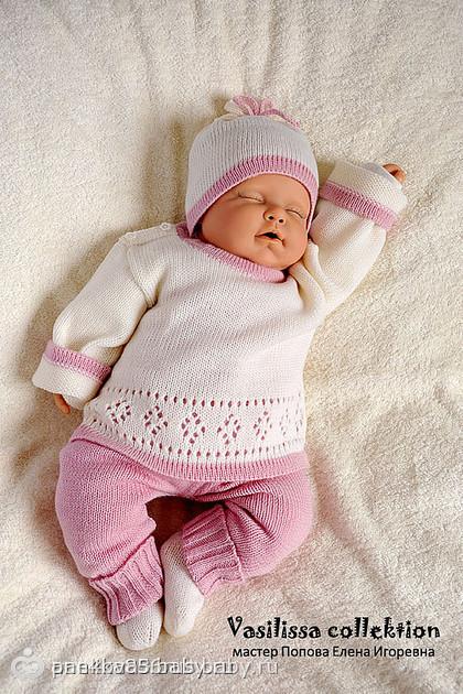 Вязание для новорожденных спицами комплекты 13