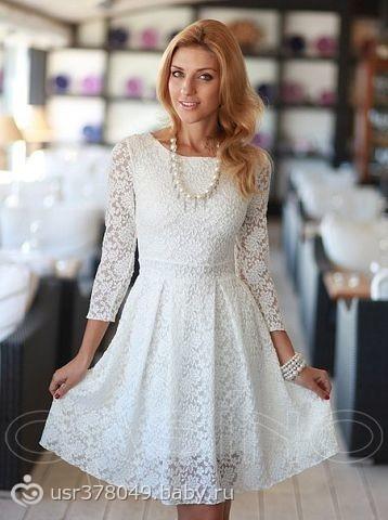 Платье в загс роспись