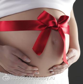 Когда появляется живот во время беременности