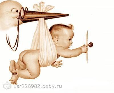 """Предпросмотр - Схема вышивки  """"аист и малыш """" - Схемы вышивки - belka_letyaga86 - Авторы - Портал  """"Вышивка крестом """" ."""
