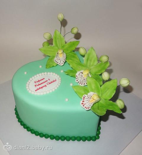 Поздравление на свадебный торт 28