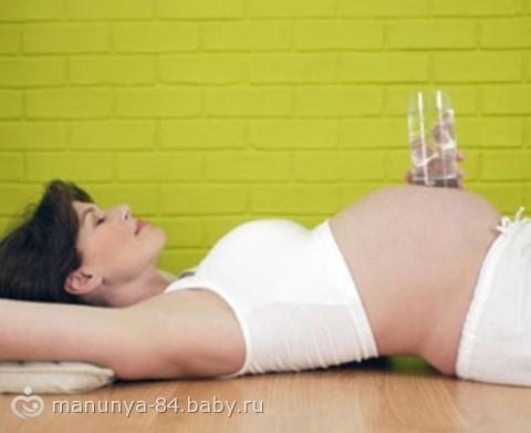 Фото отеки во время беременности