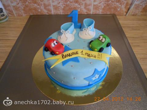 Торт для ребенка 2 года фото