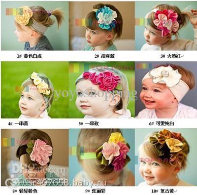Как сделать повязку из цветов на голову