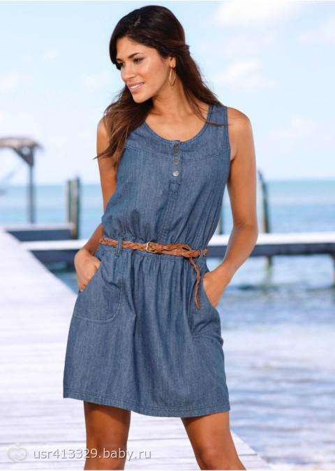Девочки помогите выбрать джинсовое платье!!! - на бэби.ру
