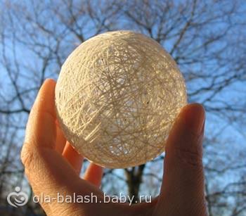 Как сделать своими руками шарик фото