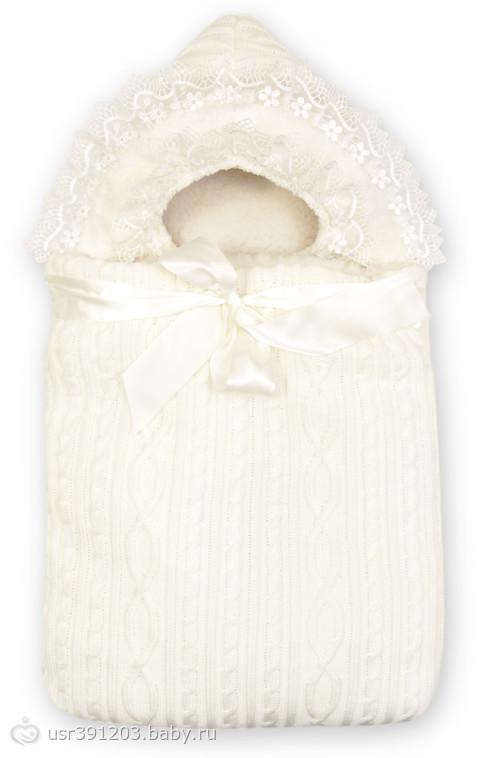 Вязание конверт на выписку