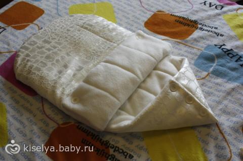 выкройка одеяла на выписку