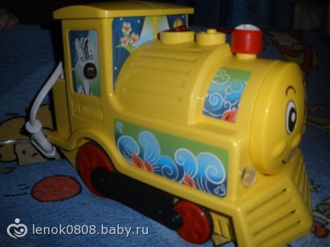 Детский ингалятор паровозик фото для