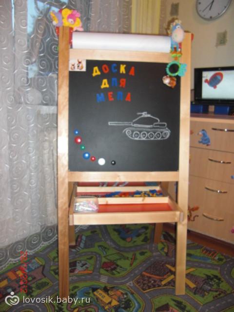 Детский стол-мольберт Ученый Кот купить в Москве: цены