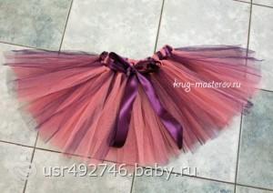 Пачка юбка из бумаги