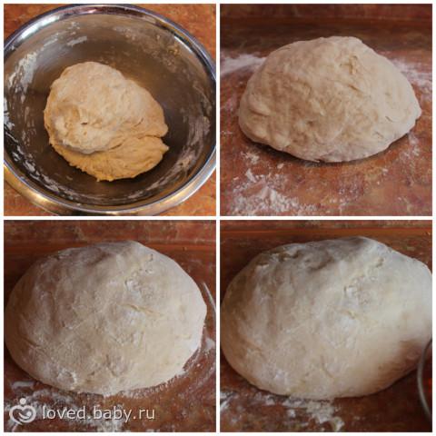 Как сделать тесто для пышки