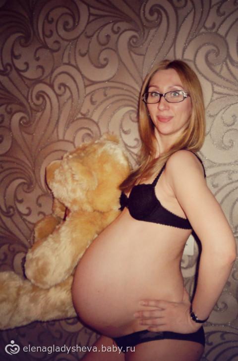Голые фото беременных очень больших животов