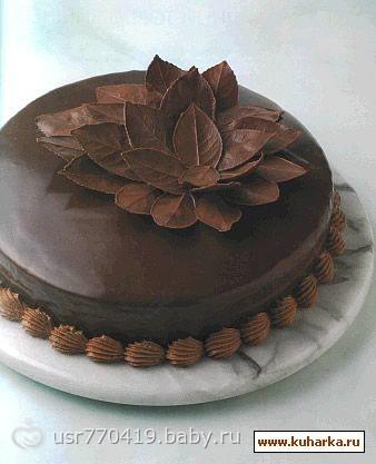 Торт из шоколада видео
