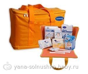 Сумка в роддом Сумка-трансформер с набором для рожениц, артикул Hartmann Orange Bag Описание: Сумка-трансформер с