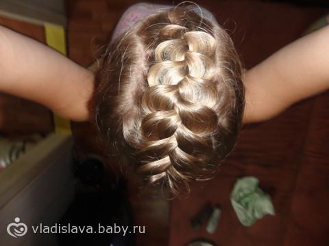 Схема плетение франзуцких кос?