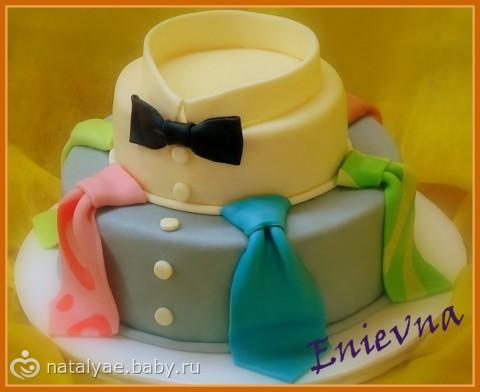 Торт на 30 лет мужу из мастики своими руками