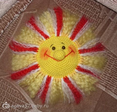 Солнышко (крючком)