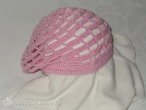 Коллекция летних шапочек и