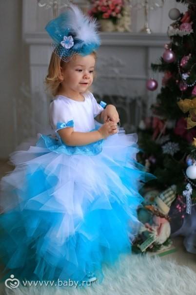 Сшить платье из фатина на выпускной в детском саду своими руками