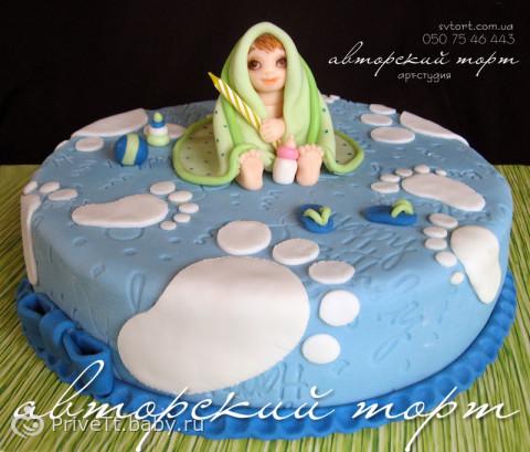 фото тортов для детей год