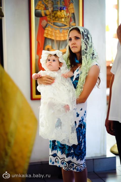 Что одевать ребёнку на крещение