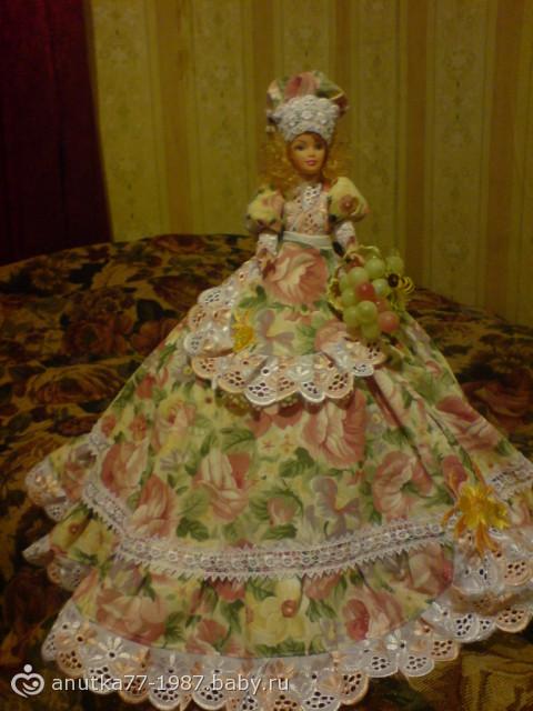 Грелка на чайник своими руками мастер класс кукла 47