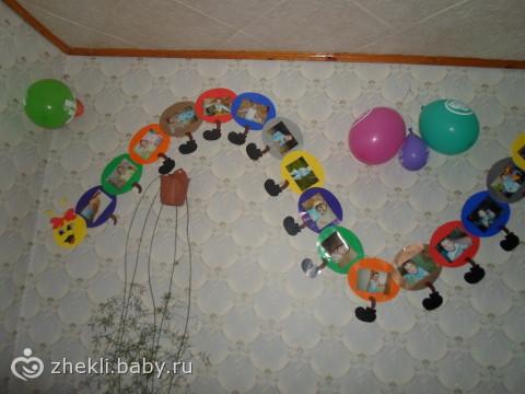 Украшение комнаты на годик ребенку своими руками