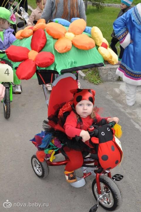 Украшаем детский велосипед на конкурс фото