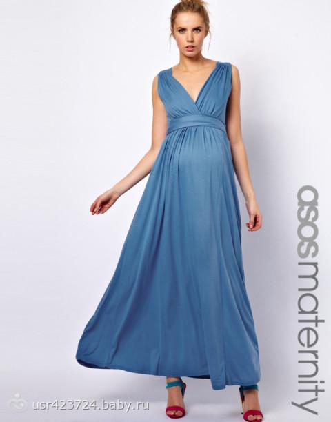 Выкройка для платья для беременных