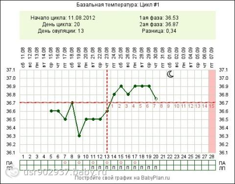 Температура тела беременность 7 недель