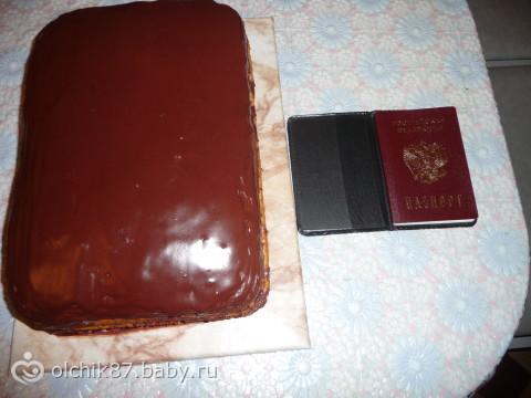 Прикольные торты (7 фото)