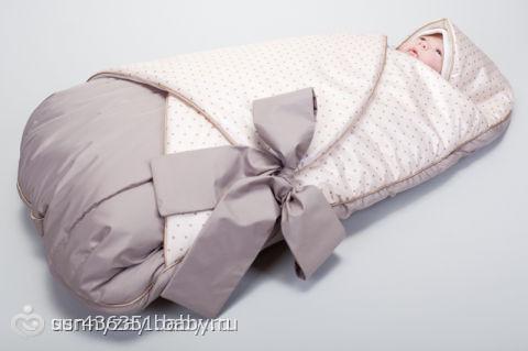 Выкройка конверта для новорожденного на лето