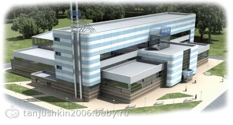 Основная конструктивная схема здания - монолитный железобетонный каркас.
