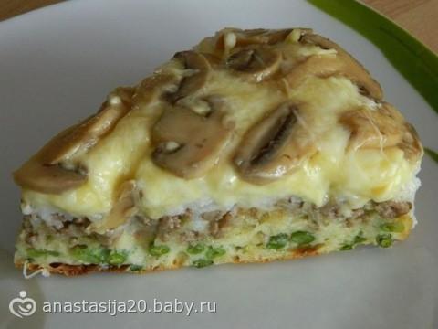 """Пирог с творожной начинкой и засахаренными каштанами """"Каштаны. Осень. Карамель"""" – кулинарный рецепт"""