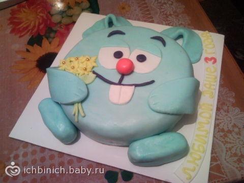 торт из мастики для мальчика рецепт
