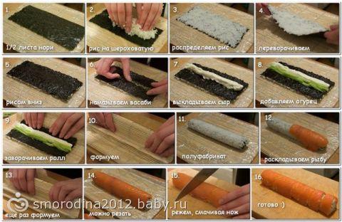 Какой рис лучше для суши в домашних условиях