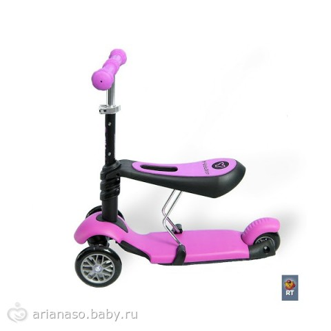 детский самокат с сиденьем от 1 года отзывы