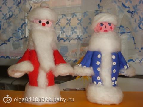 Дед мороз из бутылки поделкам своими руками