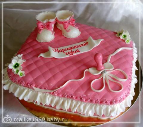 Торт девочке 1 год фото фотоархив
