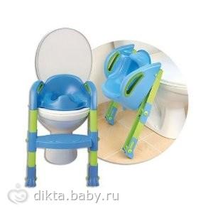 обладательницы сиденье на унитаз для детишек со ступенькой Thermobaby KiddyLoo